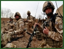 UK force levels in Afghanistan are to reduce to around 5,200 by the end of 2013, announced Wednesday December 19, 2012, the British Prime Minister. In Parliament, the Prime Minister said UK forces would shift from mentoring Afghan troops at battalion level to brigade level next year.