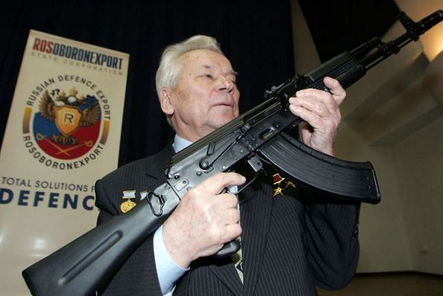 Izhmash, the manufacturer of Kalashnikov AK assault rifles, said its sales were up 57.4 percent last year at 5.73 billion rubles (about $190 million). Civilian weapon sales rose 25 percent and a similar increase is expected this year, Izhmash press secretary Yelena Filatova said.