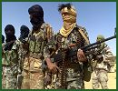At least 45 rebels and two government soldiers have died this week during fighting in nothern Mali, the country's military said. The battles ended several years of fragile peace in the country's northern desert, which borders Algeria and Mauritania, and appeared to confirm the Malian government's fear that nomadic Tuareg fighters once employed by the regime of ousted Libyan leader Muammar Gaddafi had returned