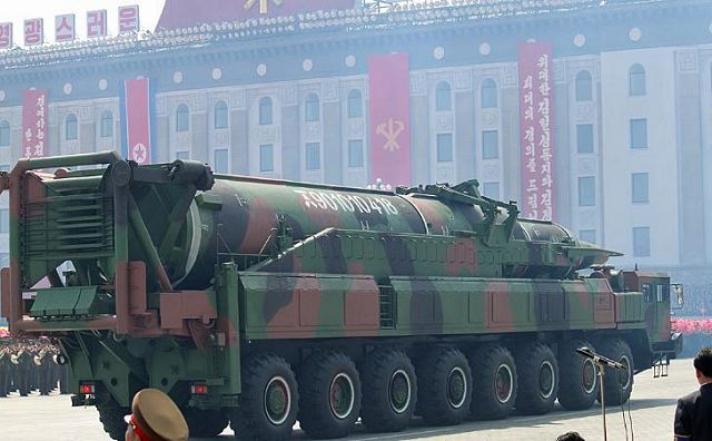 "North Korea is preparing to launch a new ballistic missile the Japanese Kyodo news agency reported Friday, quoting Japanese government sources. ""Given their size and shape, the components transferred by train from an ammunition factory near Pyongyang appear to be for a three-stage rocket,"" Kyodo quoted sources in the Japanese secret services as saying."