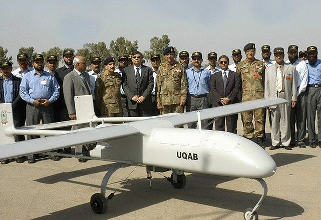 Pakistan Defense Minister Syed Naveed Qamar said Pakistan intends to build unmanned aerial vehicles. Qamar made the statement in discussions with Pakistani media, the News International reported Thursday, October 18, 2012. Pakistan's indigenous UAV industry is centered on the state-owned defense enterprise Pakistan Aeronautical Complex in Kamra, east of Islamabad.