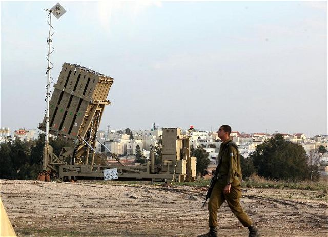 The Israeli army on Thursday, December 26, 2013, continues to deploy Iron Dome anti-missile batteries in the south, getting prepared for a possible escalation of violence in the vicinity of the Hamas-ruled Gaza Strip.