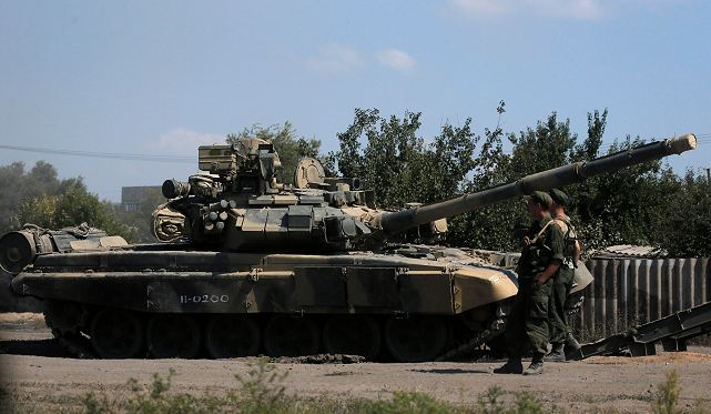 According an Ukrainian official, Monday, August 25, 2014, a column of Russian tanks and armoured vehicles has crossed into southeastern Ukraine, away from where most of the intense fighting has been taking place
