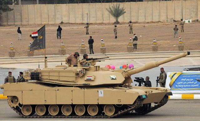 The U.S. State Department has made a determination approving a possible Foreign Military Sale to Iraq for M1A1 Abrams tanks, M1151A1 Up-Armored High Mobility Multi-Purpose Wheeled Vehicles and associated equipment, parts and logistical support for an estimated cost of $2.4 billion. The Defense Security Cooperation Agency delivered the required certification notifying Congress of this possible sale today.