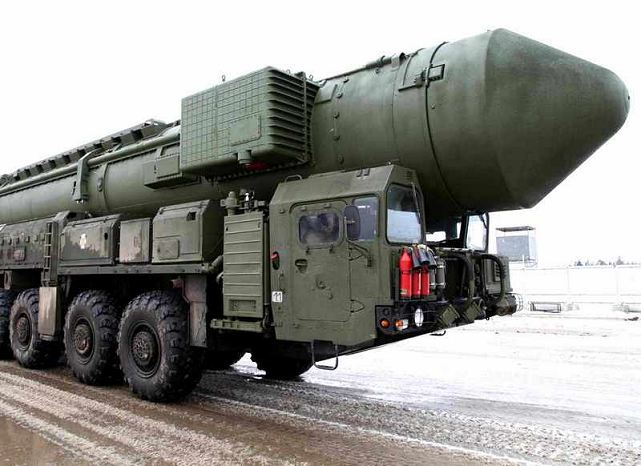 Russian Strategic Arms Forces on Friday, December 26, 2014, successfully test launched a Yars solid fuel intercontinental ballistic missile from its Plesetsk Space Complex in the country's northwest, an official spokesman for the Strategic Arms Forces said.
