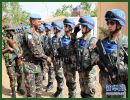 Major General Jean Bosco Kazura, commander of the United Nations Multidimensional Integrated Stabilization Mission in Mali (MINUSMA), inspected the first Chinese peacekeeping force to Mali which was deployed in place at 10:00 on January 22, 2014, local time, and spoke highly of the Chinese peacekeepers' outstanding performance and professional competence.