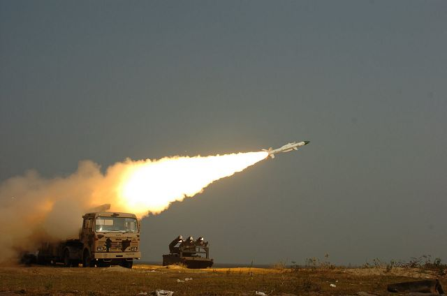 Indian Air Force (IAF) personnel for the first time successfully test fired surface-to-air nuclear capable supersonic missile Akash in ripple mode from the Integrated Test Range (ITR) off the Odisha coast on Wednesday, May 28, 2014