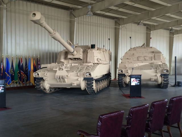The United States Army's capability to project land power grew this week with the induction of the M109A7 self-propelled howitzer and its companion M992A3 carrier ammunition tracked vehicle into low-rate initial production.