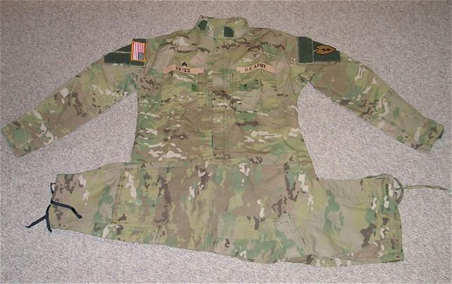 The United States Army has chosen the new camouflage pattern for its combat uniform, according to news reports. The service has not officially announced its decision, but anonymous Army officials told Military.com and Army Times that the Scorpion pattern has been selected to replace the current Universal Camouflage Pattern. (Source Stars and Stripes)