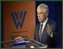 At a Wilson Center forum here this morning on NATO's 21st-century security challenges, Defense Secretary Chuck Hagel called for the creation of a new NATO ministerial meeting focused on defense investment that includes finance ministers or senior budget officials.