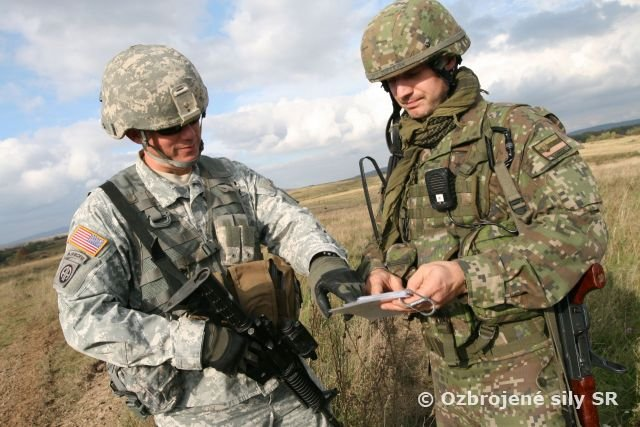 nd of the Ground Pepper 2014 multinational army training in Slovakia