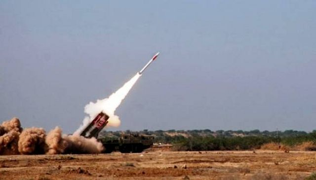 Pakistan on Friday, September 26, conducted a successful test fire of Short Range Surface to Surface Missile Hatf IX (NASR), the ISPR reported. The test fire was conducted with successive launches of 4 Missiles from a Multi Tube Launcher with Salvo Mode.