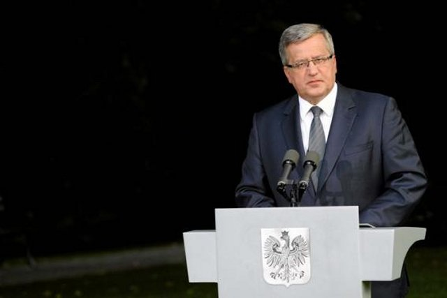 Polish President Bronislaw Komorowski said on Tuesday, September 9, during Tuesday's National Defense Council session a full acceptance for 2 percent of its gross domestic product (GDP) in the state budget to be reserved for defense goals was given.