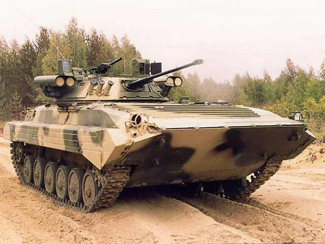 According TASS, the second phase of modernization of Algerian BMP has been launched 640 001