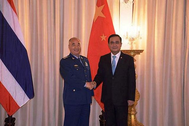 China and Thailand to deepen military relation between the two countries 640 001