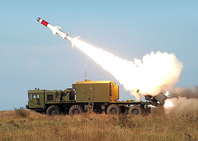 Tuesday, April 28, 2015, the Pacific Fleet (PF) Coastal Troops' formation of Russian Armed Forces held the first launch from the new missile system 'Bal', which came into the brigade'service at the end of last year.