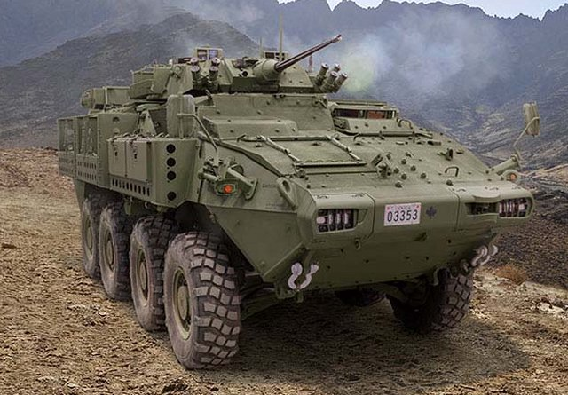 DRS Technologies to provide surveillance systems to Canadian Army armoured vehicles LAV 640 001