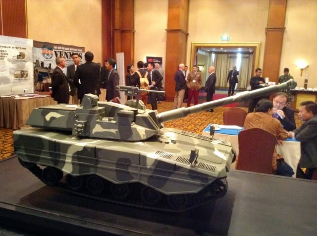First two prototypes of Turkish-Indonesian medium tank should be unveiled in 2015 640 002