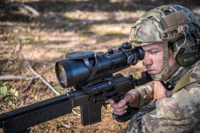 Meprolight to deliver hundreds of night vision sights for IDF Israel Defense Forces 640 001