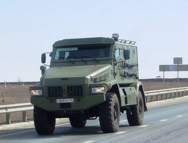Ministry of Internal Affairs of Russia starts testing new Patrol A armored multi purpose vehicle 640 001