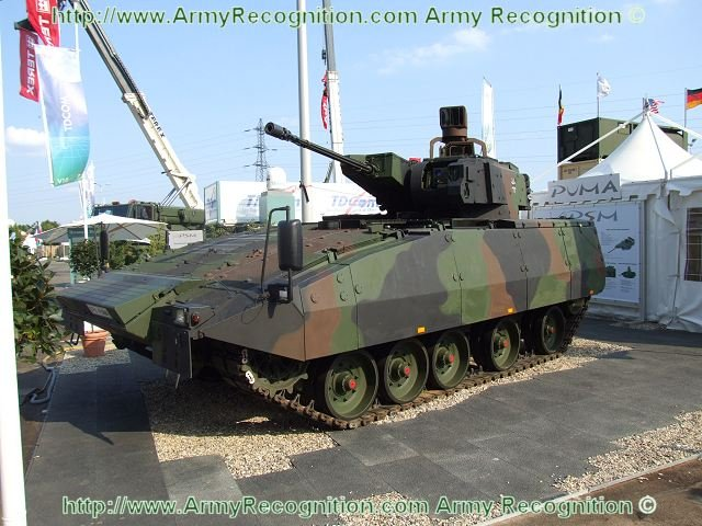 Puma infantry fighting vehicle gets official approval for service in German army