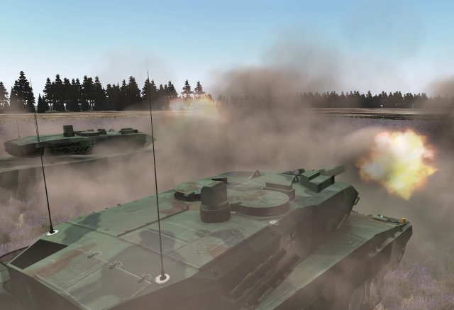Rheinmetall successfully passes acceptance tests for Leopard 2 simulators for the Indonesian Army 640 001
