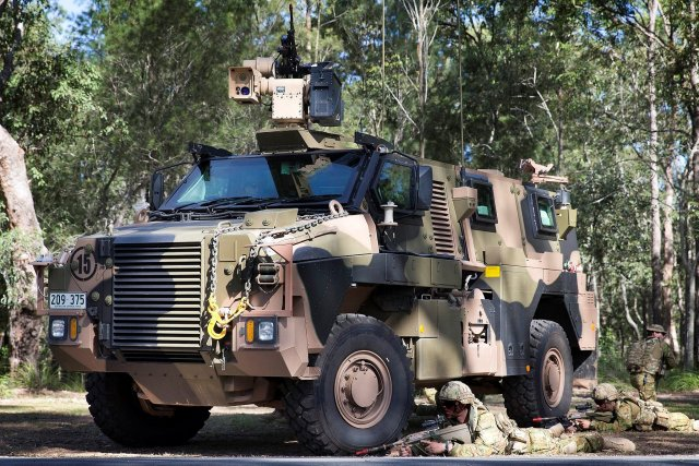 Thales Australia opens new Bushmaster armored vehicles support center 640 001