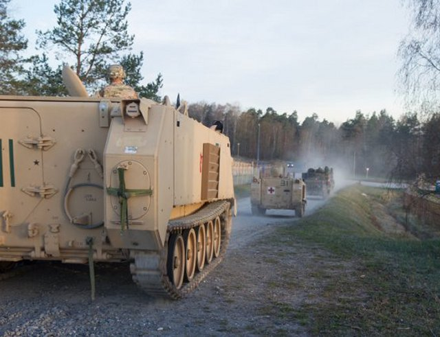 US German soldiers launched joint training exercise Operation Freedom Shock 640 001