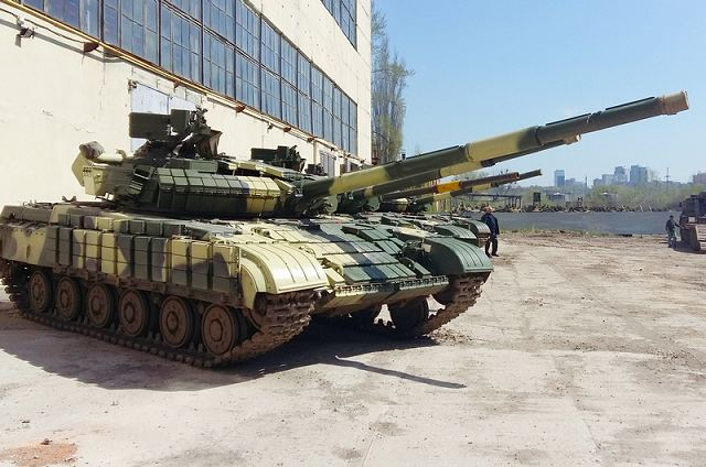 Ukroboronprom to deliver updated T-64B main battle tanks to the Ukrainian army 640 001