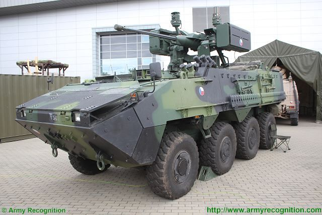 Czech Ministry of Defence has approved the purchase of 20  dditional Pandur II 8x8 armoured APC 640 001