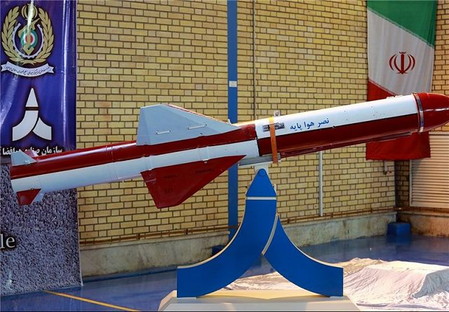 Iran inaugurates production line of Nasr high-precision air-based cruise missile 640 001