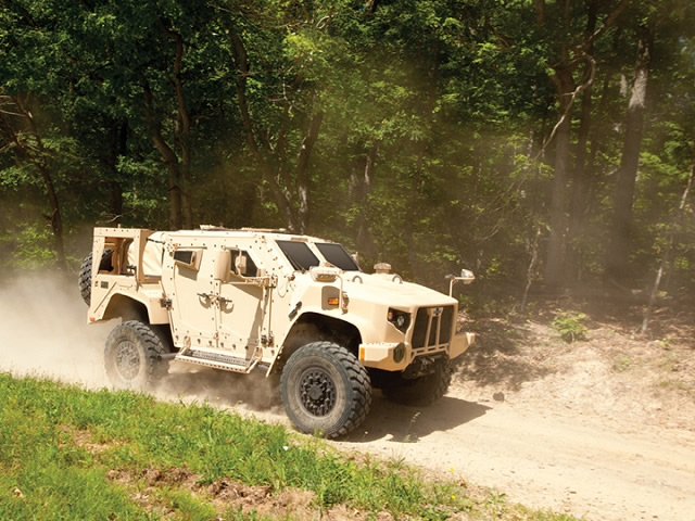 L-ATV JLTV Oshkosh US Army US Marines Oshkosh's JLTV is the Next Generation Light Vehicle Designed to Move and Protect US Military Troops in Future Missions