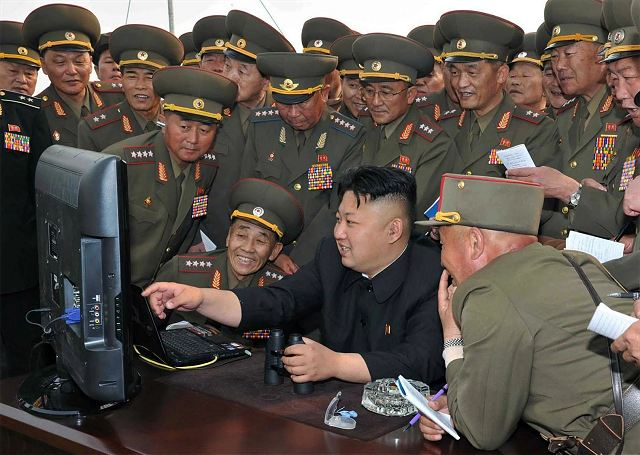Leader of North Korea Kim Jong Un has ordered to bring its armed forces to full combat readiness 640 001