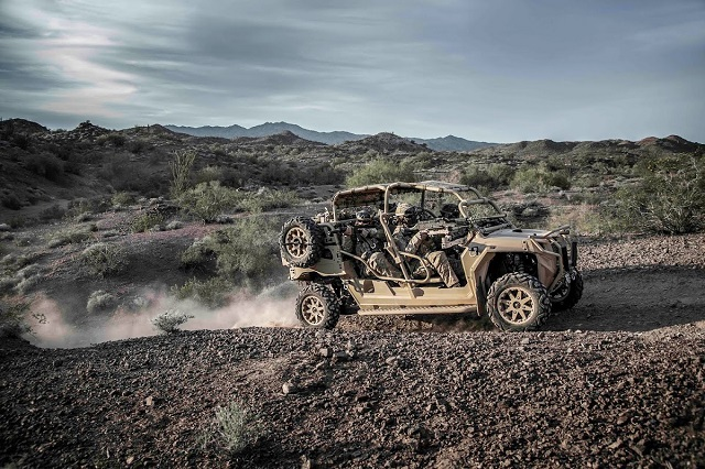 Polaris Defense MRZR highly mobile off-road vehicle USSOCCOM