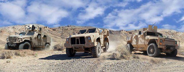 US Army award contract Joint Light Tactical Vehicle 640 001