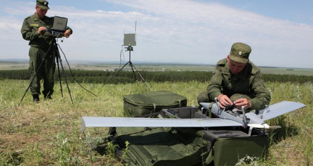 Russia manufactured its first prototypes of advanced short range UAV Korsar 640 001