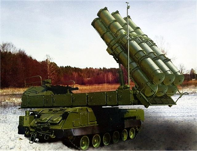 The Russian-made Buk-M3 air defense system will use new cutting-edge missile 640 001