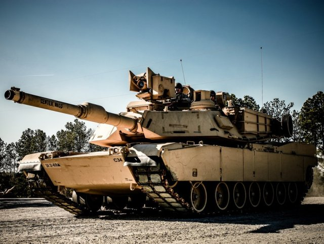 General Dynamics wins a 50 mn contract to upgrade Abrams tanks to M1A2 SEP V2 configuration 640 001