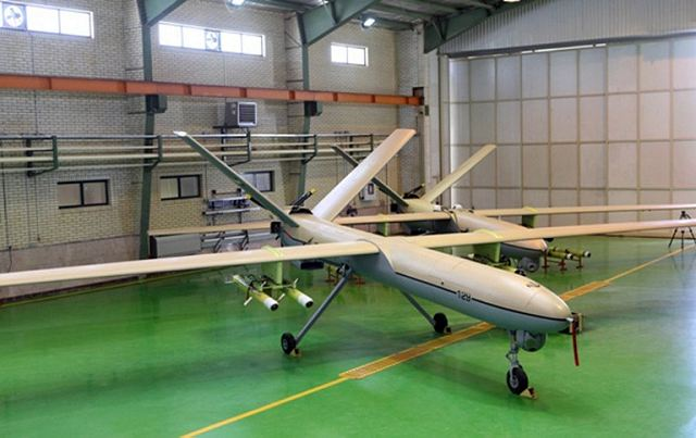 Iran equipped with new home-made drones armed with high-precision smart missiles 640 001