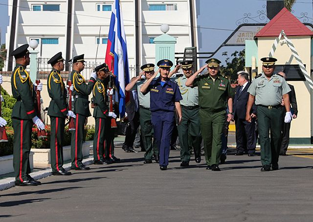 Russia and Nicaragua signed an agreement concerning military and technical cooperation 640 001