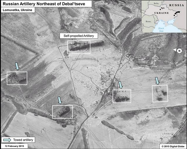 US  releases satellite images showing presence of artillery and air defense systems sent by Russia 640 001