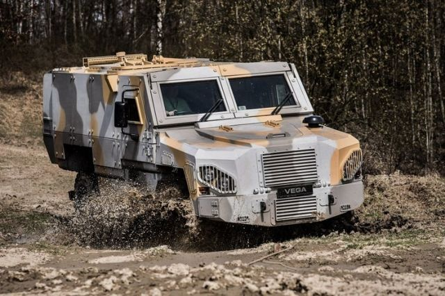 Czech Ministry of Defence announced tender for the supply of up to 62 MRAP vehicles 640 001