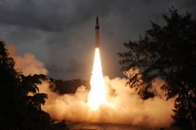 "India on Saturday, January 31, 2015, successfully test-launched Agni-5, its longest range ballistic missile, for the third time off the Odisha coast. The missile was launched from a canister from Wheeler Island, giving it higher road mobility. The three stage, solid propellant ""missile was test-fired from a mobile launcher from the launch complex-4 of the Integrated Test Range (ITR) at about 8.06 hours,"" ITR Director M V K V Prasad said."