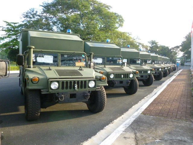 Philippine Army to receive 30 new M1152 Humvee tactical vehicles in medical variant 640 001