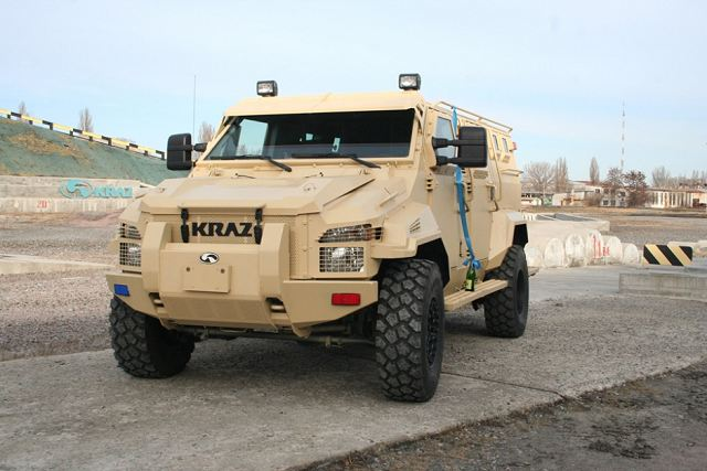 "Just before the New Year ""AutoKrAZ"" transferred the KrAZ-Spartan armored vehicle to Forensic Science Research Centre of the Ministry of Interior of Ukraine. The KrAZ Spartan armored personnel carrier is produced in Ukraine under license from the UAE based Company, Streit Group."