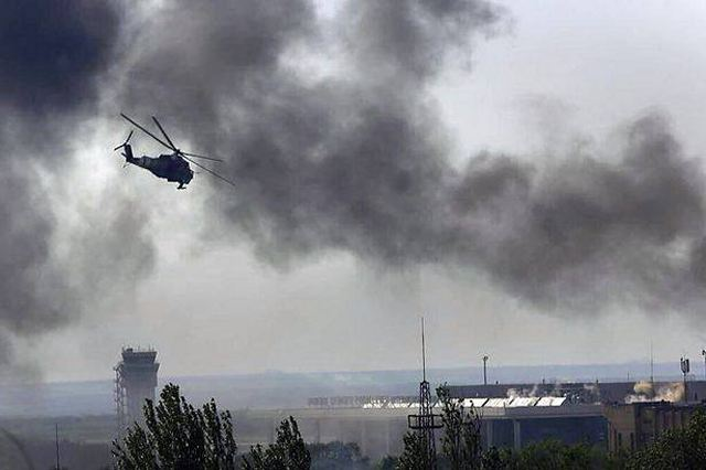Ukrainian army lost part of Donetsk airport after artillery bombardment of pro-Russian fighters 640 001