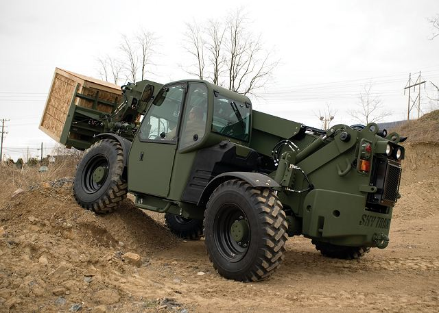 Oshkosh Defense to modernize fleet of Extendable Boom Forklifts EBFL of US Marine Corps 640 001