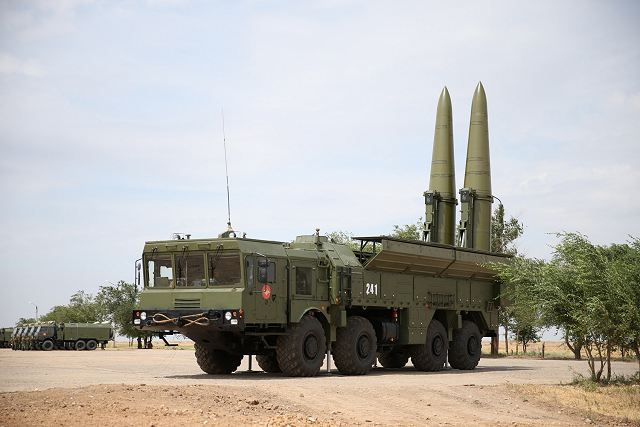 The fifth unit of Russian air defence missile units has received Iskander-M tactical missile systems 640 001
