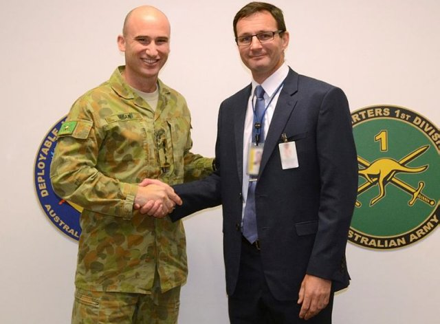 Cubic Selected for the Australian Army Exercise and Advanced Services Standing Offer EATSSO 640 001