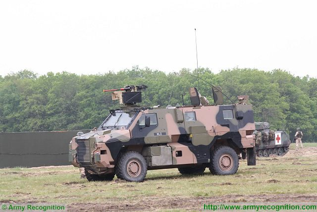 Netherlands order 12 new Bushmaster 4x4 armoured personnel carrier from Thales 640 001